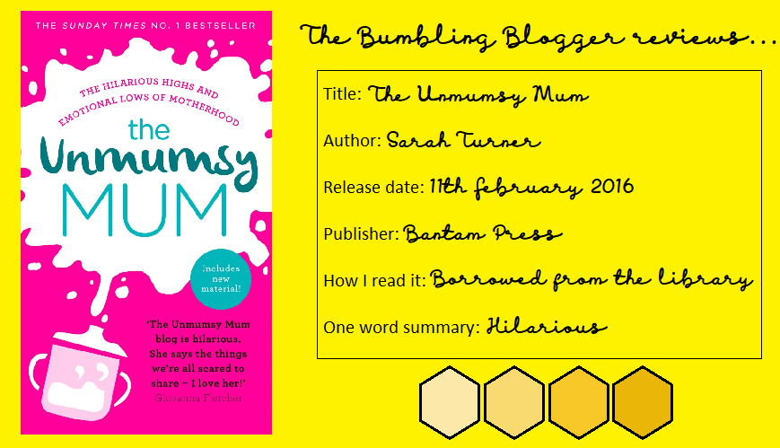 Review: The Unmumsy Mum by Sarah Turner