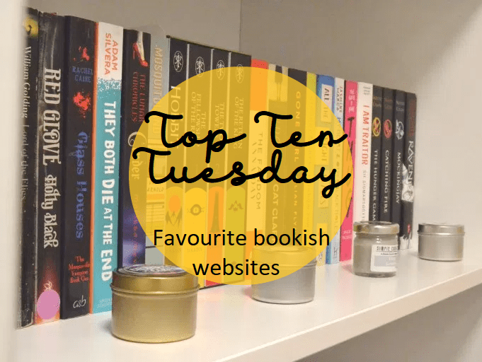 Top Ten Tuesday: Favourite bookish websites