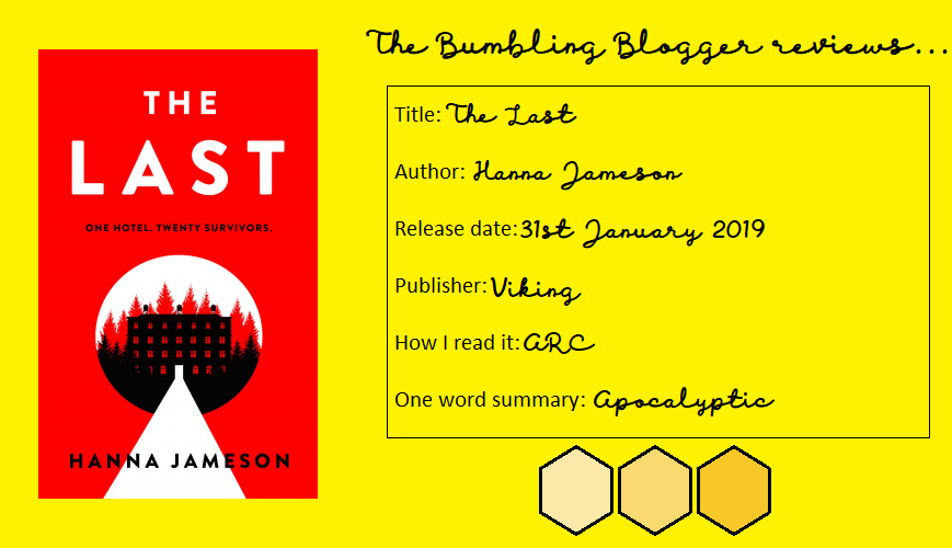 Review: The Last by Hanna Jameson