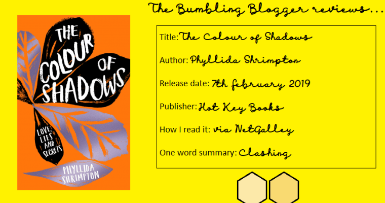 Review: The Colour of Shadows by Phyllida Shrimpton