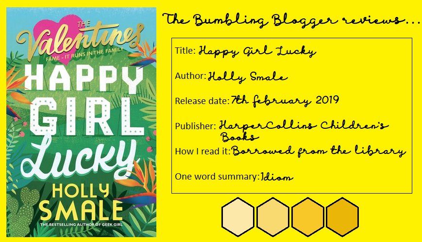 Review: Happy Girl Lucky by Holly Smale