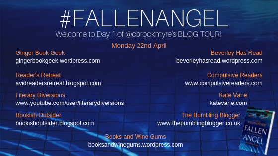 Blog tour: Fallen Angel by Chris Brookmyre