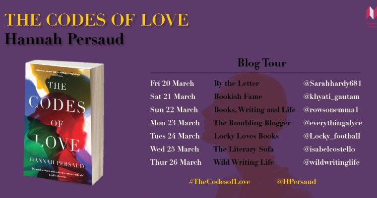 Blog tour: The Codes of Love by Hannah Persaud