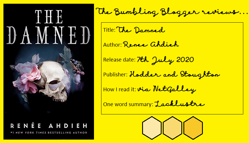 Review: The Damned (The Beautiful #2) by Renée Ahdieh