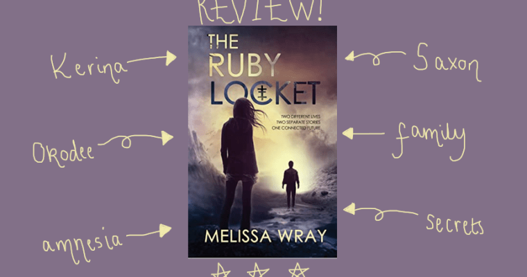 BOOK REVIEW: The Ruby Locket by Melissa Wray