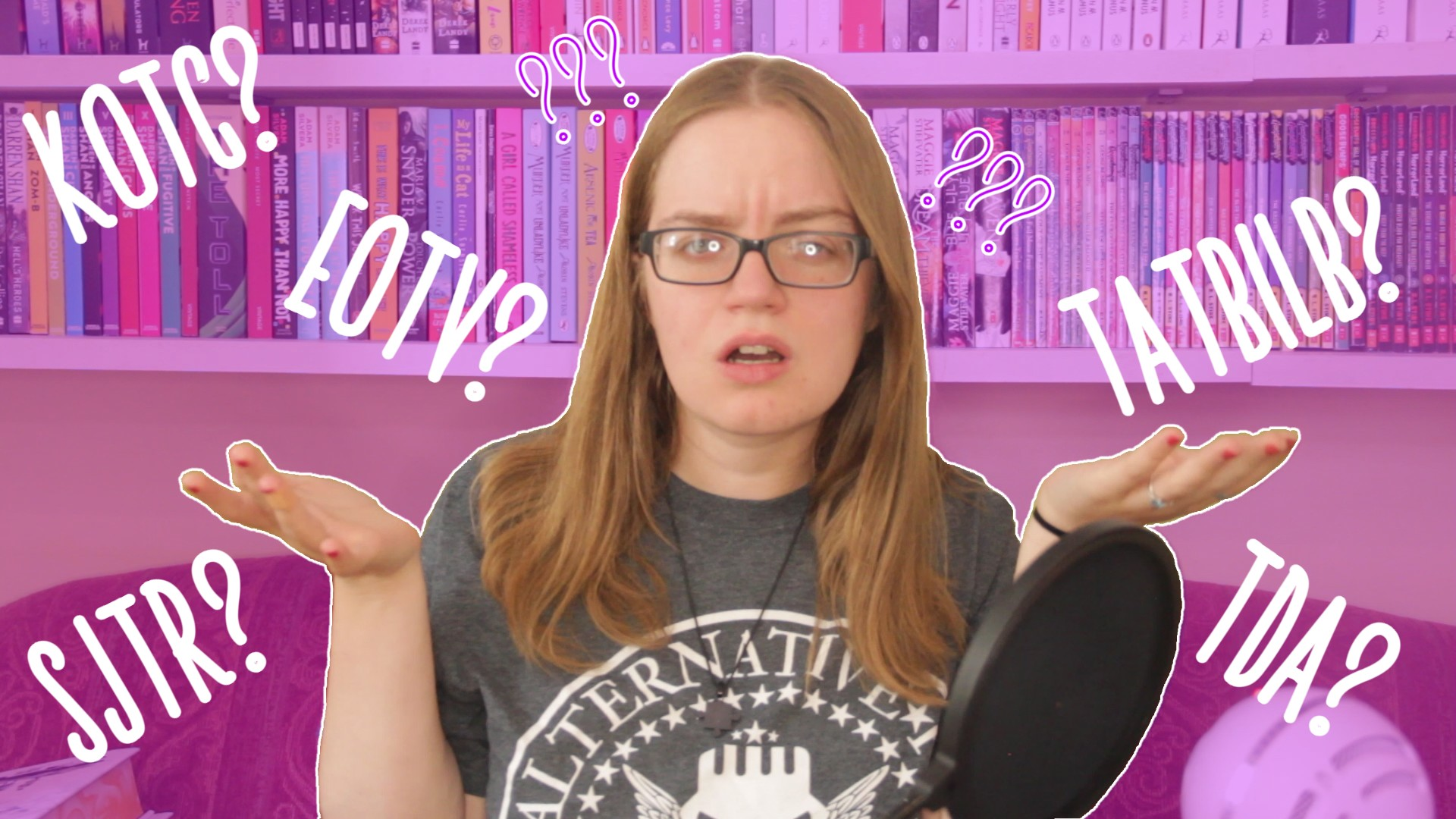 Guide to Bookish Acronyms