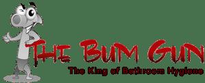 the bum gun bidet sprayer logo