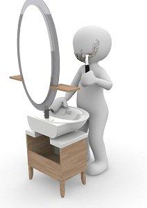 rethink bathroom habits