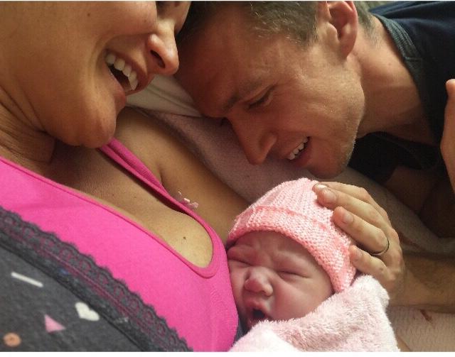 Nicki's Birth Story. A Homebirth