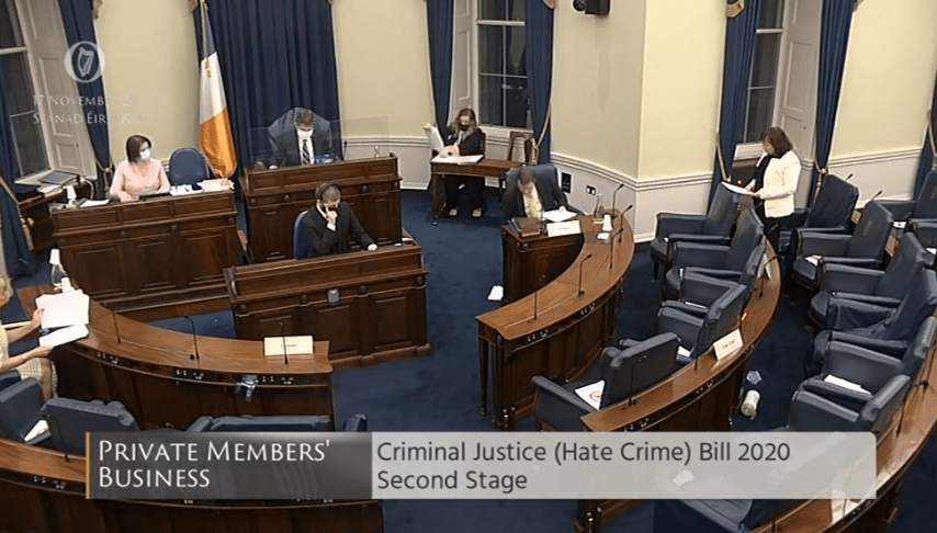 Hate Crime Bill Reaches Second Stage in the Seanad on The Burkean