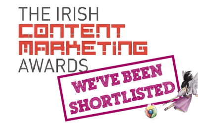 We've Been Shortlisted For The Irish Content Marketing Awards