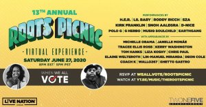The Roots Picnic 2020 Partners With Michelle Obama's When We All Vote For Virtual Festival Experience