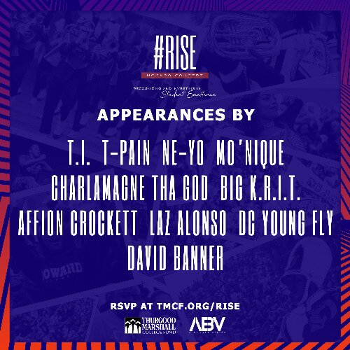 David Banner Curates The Thurgood Marshall College Fund RISE Concert