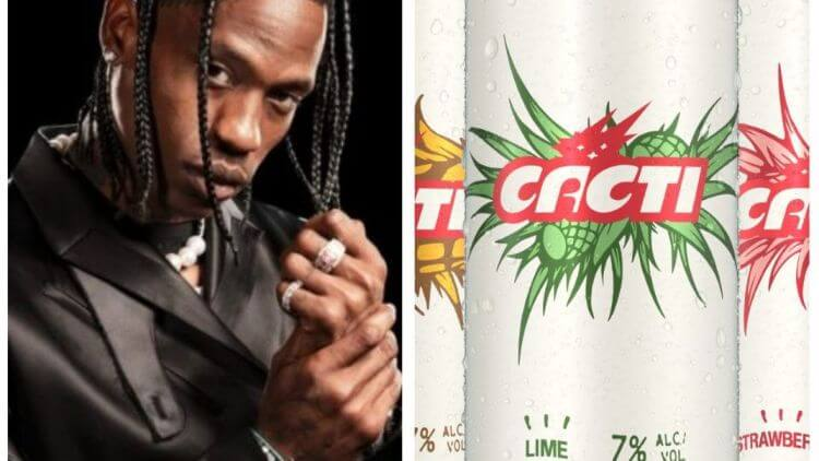 Anheuser-Busch CEO Says Travis Scott's Hard Seltzer CACTI 'Sold Out Completely' Within One Day