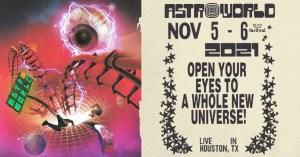 Travis Scott Announces Astroworld Festival 2021
