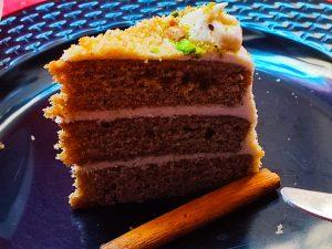 vanilla chai cake