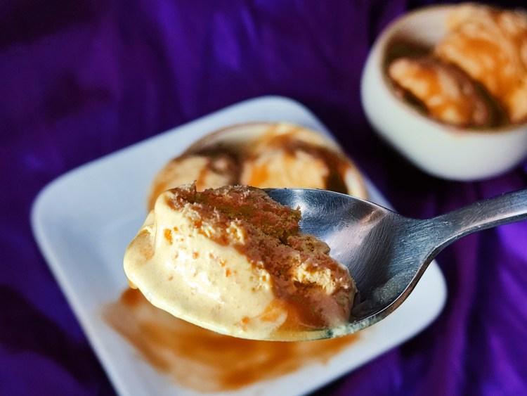 caramelized carrot ice cream