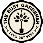 The Busy Gardener logo