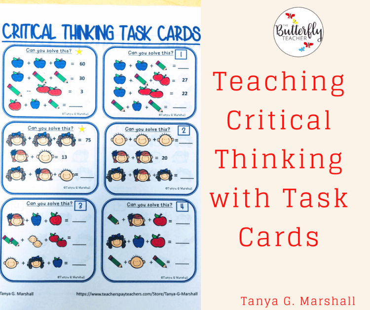 Teaching Critical Thinking with Task Cards
