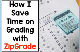 how to save time on grading