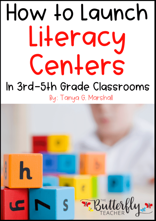 4th Grade Literacy Centers | The Butterfly Teacher