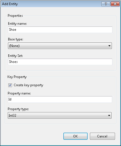 Entity Framework Part 5 Model First : Create a database with