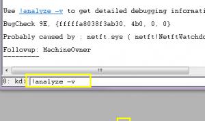Analyzing a server 2008 R2 dwp crash dump file (4/4)