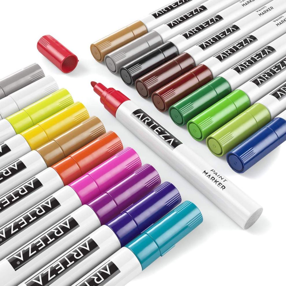 arteza paint marker honest review marker assortment