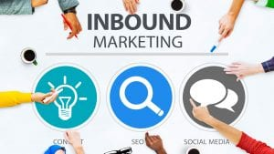 Image is part of our inbound marketing certification course and details various inbound marketing strategy