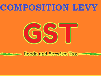 image helps explain basics of GST tax and how can gst registered person benefit by composite levy of gst tax