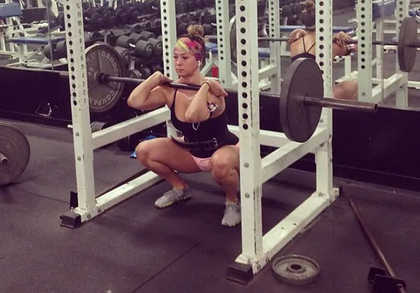 Woman Front Squat
