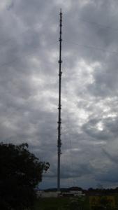 Waltham transmitter mast