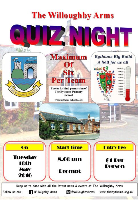 Pub quiz poster (10-05-2016)