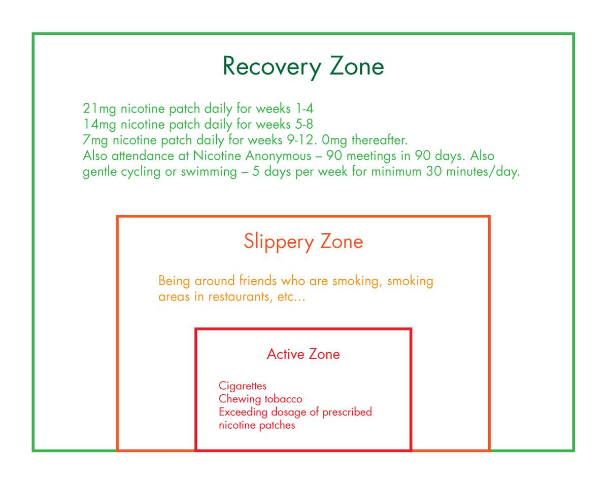 The 3 Circles Addiction Model