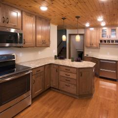 Apple Valley Kitchen Cabinets Counter Overhang Maple The Cabinet Store