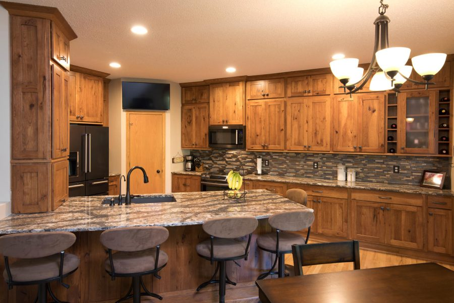 Project Feature Rustic  Cozy Kitchen Remodel  The