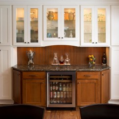Apple Valley Kitchen Cabinets Stone Backsplash Details | The Cabinet Store
