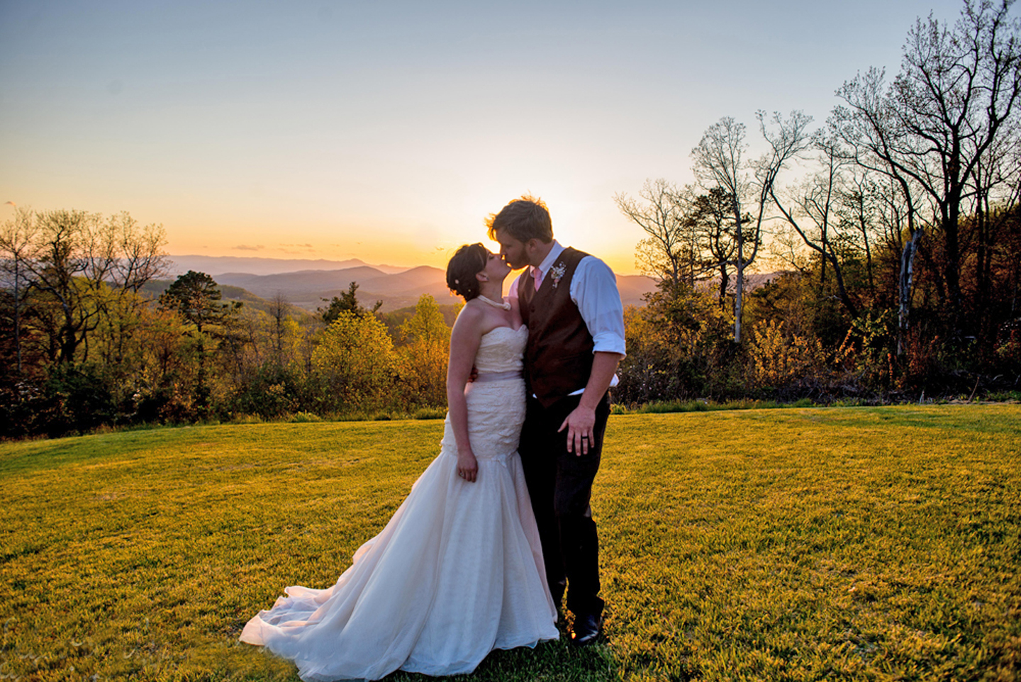 outdoor wedding venues near me in western nc the cabin ridge
