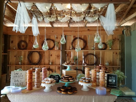 DoNut Bar in the Barn