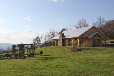 New Pavilion at The Cabin Ridge - Outdoor Wedding & Event Venue