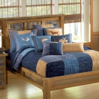 Denim Square Bed Set
