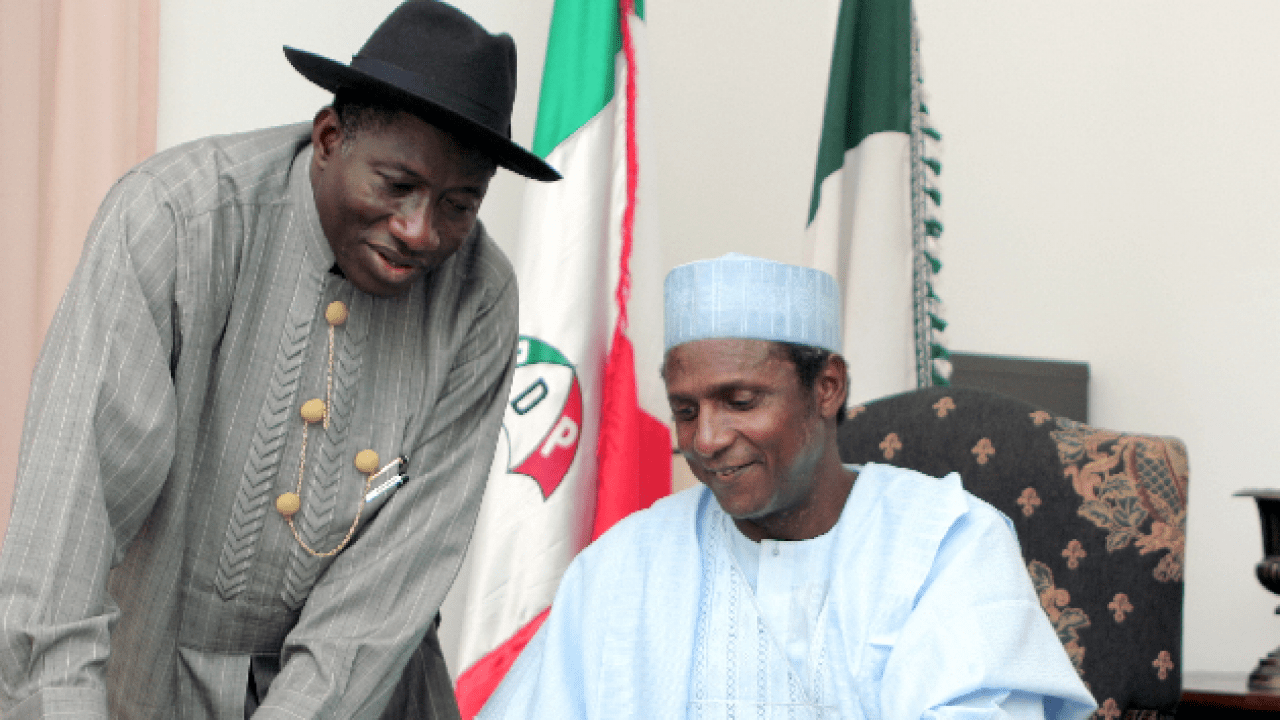 Image result for Jonathan: Yar'Adua gave hope to Nigerians