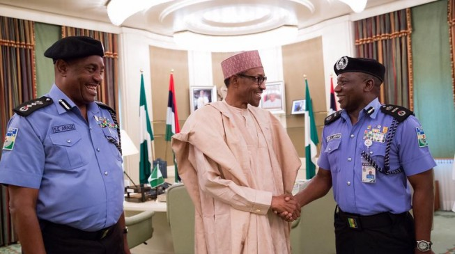 Image result for Are these the real reasons Buhari won't let go of IGP Ibrahim Idris?