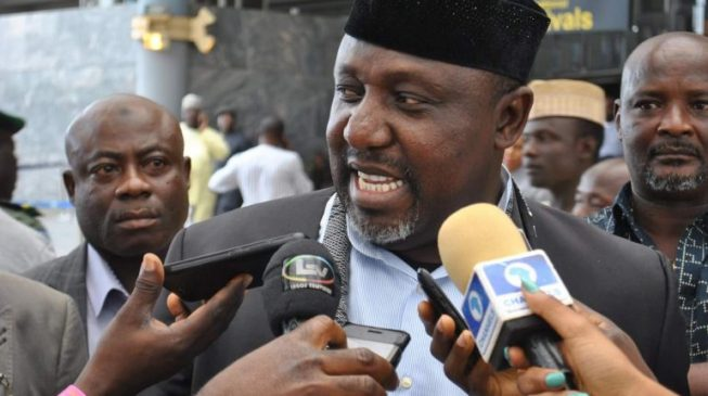 Image result for Why APC, Uzodinma can't win election in Imo – Gov. Okorocha
