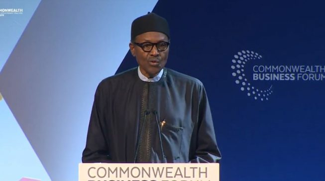 Image result for Many Nigerian youths just want to sit down and do nothing - Buhari