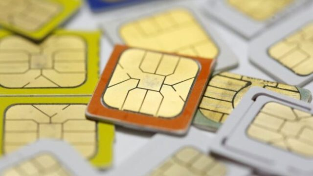 Issuance of new SIM