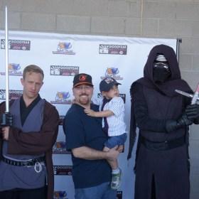 What do baseball, Luke Skywalker and Kylo Ren have in common??