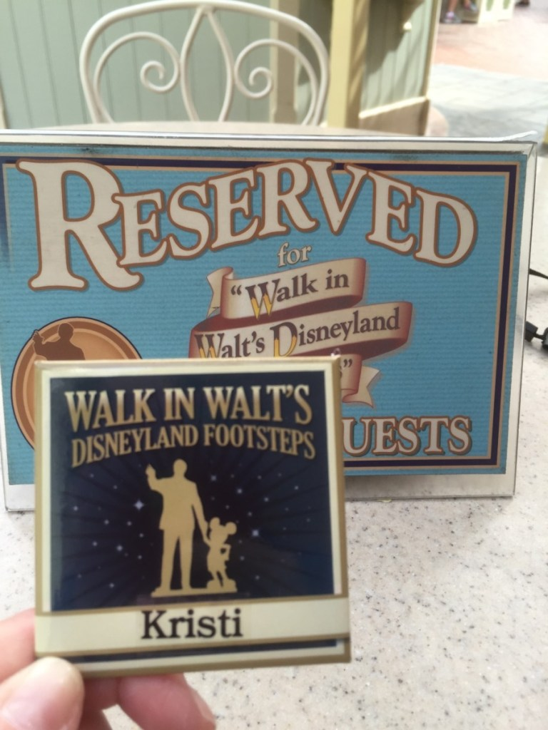 One reason why it's worth it take the Walk in Walt's Footsteps at Disneyland tour is because it's like a mini Disneyland VIP tour.