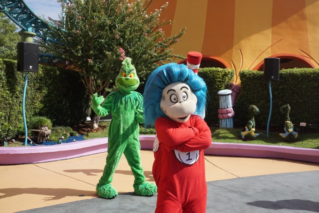 Thing 1 and Green Eggs and Ham!