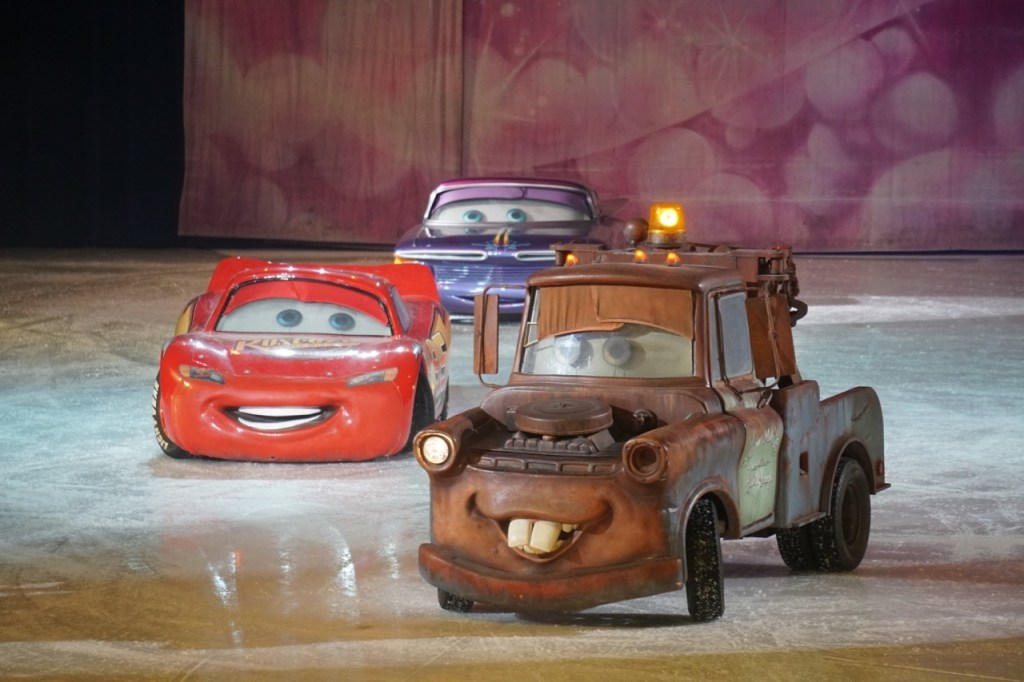 Lightening McQueen and Tow Mater are two of the characters that make an appearance during Disney On Ice presents Worlds of Enchantment. Read on for information regarding a discount for Disney on Ice presents Worlds of Enchantment tickets in Phoenix!